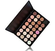 28 nueva sombra de ojos color mate brillo& brillo paleta de colores originales