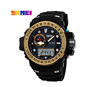 SKMEI® Men's Analog- Digital Silicone Band 30m Water-resisstant Multi-Functional Sports Watch Cool Watch Unique Watch