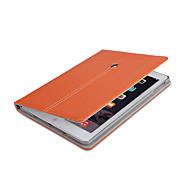 superiore di stile di affari di qualità cuoio dell'unità di elaborazione con il caso astuto supporto per iPad 2/3/4 (corlors assortiti)
