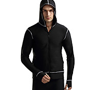 Others Men's Tops / Rash guard / Wetsuit Skin Diving Suit Ultraviolet Resistant Dive Skins  3 to 3.4 mm White / Black S / M / L / XL / XXL