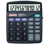Solar Power Calculator for Office 17*14.5cm(Random Colors)