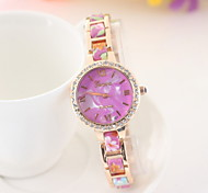 Women's Fashion Diamond Watches Quartz Watch Alloy Band