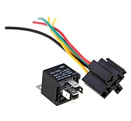 5 Relay Repeater 30 / 40 (5 Pin 12V + 5 Cable For Automobile