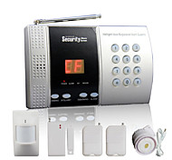 Wireless Home Alarm Panel with 68 Zone + Intelligent Doorbell Function