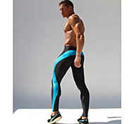 Corsa Tuta da ginnastica / Calze/Collant/Cosciali / Pantalone/Sovrapantaloni / Pantaloni Per uomoTraspirante /