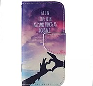 iPhone 7 Plus Loving Hand Painted PU Phone Case for iPhone 6s 6 Plus SE 5s 5c 5 4s 4