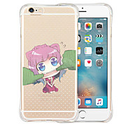 I Am Not Your Doll Soft Transparent Silicone Back Case for iPhone 6/6S (Assorted Colors)