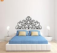Romanticismo / Fashion / Floreale Adesivi murali Adesivi aereo da parete,PVC S:27*55cm/ M:42*86cm/ L:55*112cm