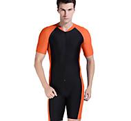 sbart Hombres Trajes de buceo / Protección para Erupciones / Traje Acuático Traje de buceo Resistente a los UV Dive Skins 3-3,4 mm