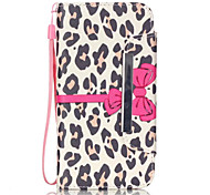 For Samsung Galaxy S7 Edge Card Holder / Wallet / with Stand / Flip / Pattern Case Full Body Case Leopard Print PU Leather SamsungS7 edge