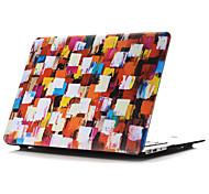 coquille plate couleur dessin ~ 35 de style pour macbook air 11 '' / 13 ''