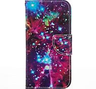 Для Кейс для iPhone 5 Бумажник для карт / со стендом Кейс для Чехол Кейс для Пейзаж Твердый Искусственная кожа iPhone SE/5s/5