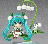 Vocaloid Hatsune Miku 12CM Figure Anime Azione Giocattoli di modello Doll Toy