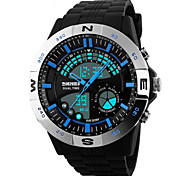 Skmei® Men's Dual Time Zone Outdoor Sports Multifunction Wrist Watch Assorted Colors Cool Watch Unique Watch