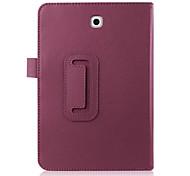 Magnetfuß-PU-Leder-Kastenabdeckung für Samsung Galaxy Tab s2 8.0 T710 sm-T715 T715 8 '' Tablette Abdeckung Fall