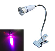 JiAWEN E27 5W 3-Red + 2-Blue Clip-on LED Plant Grow Light (AC 85-265V)
