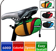 Bike Saddle Bag Cycling/Mountain Bike Accessories Colorful Bike Tube Pannier Waterproof Durable Bike Case