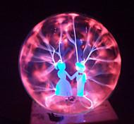 vidrio bola mágica del plasma de los amantes de la esfera de 4 pulgadas bola mágica electrónica regalo creativo artesanías adornos de