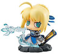 Fate/Stay Night Saber 5-8CM Anime Action-Figuren Modell Spielzeug Puppe Spielzeug