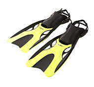Diving Fins PVC Black