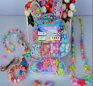 DIY Manual Weaving Bracelets Amblyopia Training Children Educational/Toy Beads Gift Box