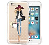 фаворитами королевы мягкий прозрачный силиконовый чехол для iphone 5 / 5s (разных цветов)