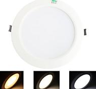 12W Luci da soffitto 48 SMD 5730 1020 lm Bianco caldo / Luce fredda / Bianco Decorativo AC 85-265 V 1 pezzo