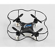 Drone RC M9912 4CH 6 Eixos 2.4G - Quadcóptero RC Vôo Invertido 360° Preto / Prateado / Verde