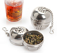 Ball Soup Pot Spice Tea Strainer Drain