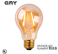 1 pezzo GMY E26 2W 2 COB ≥180 lm Bianco caldo A60(A19) edison Vintage Lampadine LED a incandescenza AC 110-130 V