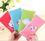 Cute Cartoon Big White Warm Male Oxford Cloth Waterproof Bag
