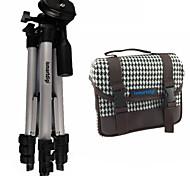 ismartdigi I101 blanco bolsa de la cámara + IR120 3 secciones trípode para todos DSLR y mini DV DSLR Nikon Canon Sony Olympus