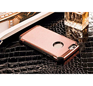 Ultra Thin Lichee Pattern PU Leather protection case for iphone 5/5S/SE