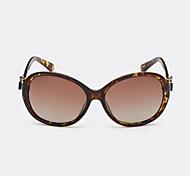 Gafas de Sol mujeres's Retro/Vintage / Estilo de gafas de sol Lente polarizado / 100% UV400 Ovalada Concha de Tortuga Gafas de Sol