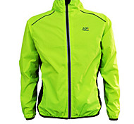 Bike/Cycling Jacket / Tops Women's / Men's Long Sleeve Waterproof / Breathable / Windproof / Sunscreen Nylon Yellow / Green / OrangeS / M