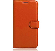 Embossed Card Wallet Bracket Type Protective Sleeve For HUAWEI P9 Lite Mobile Phone