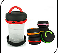 LED Foldable Camping Lantern / Tent Lights LED 3 Mode Emergency Mini Flashlights / AA Battery / Camping/ Traveling