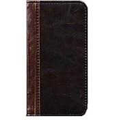 stile retrò moda vintage libro di vibrazione genuina copertura della cassa del portafoglio in pelle per iPhone 6