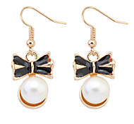 Drop Earrings Pearl Imitation Pearl Alloy Fashion Jewelry Party Daily Casual 1 pair