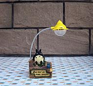 Forest Totoro Small Desk Lamp Cartoon Totoro Night Light LED Lamp Home Decor Resin Crafts Reading Light(Random Color)
