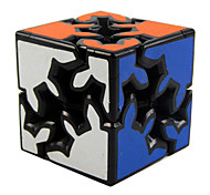 Smooth Speed Cube Gear Speed Magic Cube Black Plastic