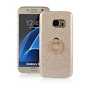The new creative mobile phone ring bracket Glitter Phone Case for Samsung Galaxy s7 / s7edge / s6 / s6edge / s5 / s3