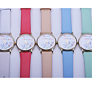 Leather colorful Whatever I am late Anyway Watch Women Fashion Wrist Watch Quartz Watch Relogio Feminino