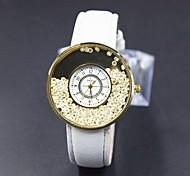 Senhora. relógios de diamantes