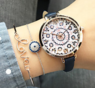 Women'S Geneva Watch Fashion Small Fresh Geneva Watch Rabbit Watches Leather Quartz Wristwatch Unisex'S Watch Cool Watches Unique Watches