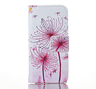 Dandelion Painted PU Phone Case for iphone5/5S/SE