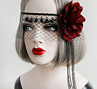 Lolita Accessories Gothic Lolita / Punk Lolita Headwear / Mask Sexy / Elegant Red / Black Lolita Accessories Vintage For Women