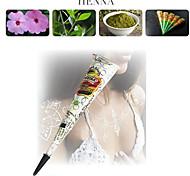 kit di tatuaggio temporaneo bianco coni scintillio hennè body art mehandi inchiostro Jagua