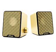 Jituo Multimedia Diaphragm Bass Speaker JT2616 GOLD