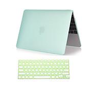 """новый 2 в 1 матовый пластик жесткий полный случай тела с клавиатуры крышкой для Macbook Air 11 """"/ 13"""" (разных цветов)"""